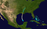 1860 Atlantic hurricane 6 track.png