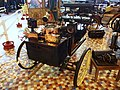 1885 De Dion Bouton tricycle with front mounted boiler and water tank and coal chest on each side of rear wheel at the Musée Automobile de Vendée pic-3.JPG