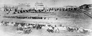 Oregon Ducks football venues - First Oregon football game, on Athletic Field, 1894