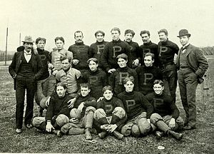 1896 Purdue Boilermakers football team - Image: 1896 Purdue football team
