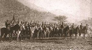 Boer Commando - The Commando assembled from Pretoria in 1899
