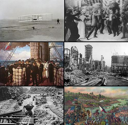 1900s decade montage