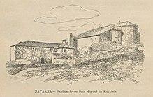 Santuario de San Miguel de Aralar - Wikipedia, la