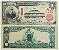 1905 - Ten Dollars Allentown National Bank Allentown PA.jpg