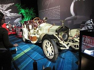 Thomas Motor Company - A 1907 Thomas Flyer on display in Toronto.