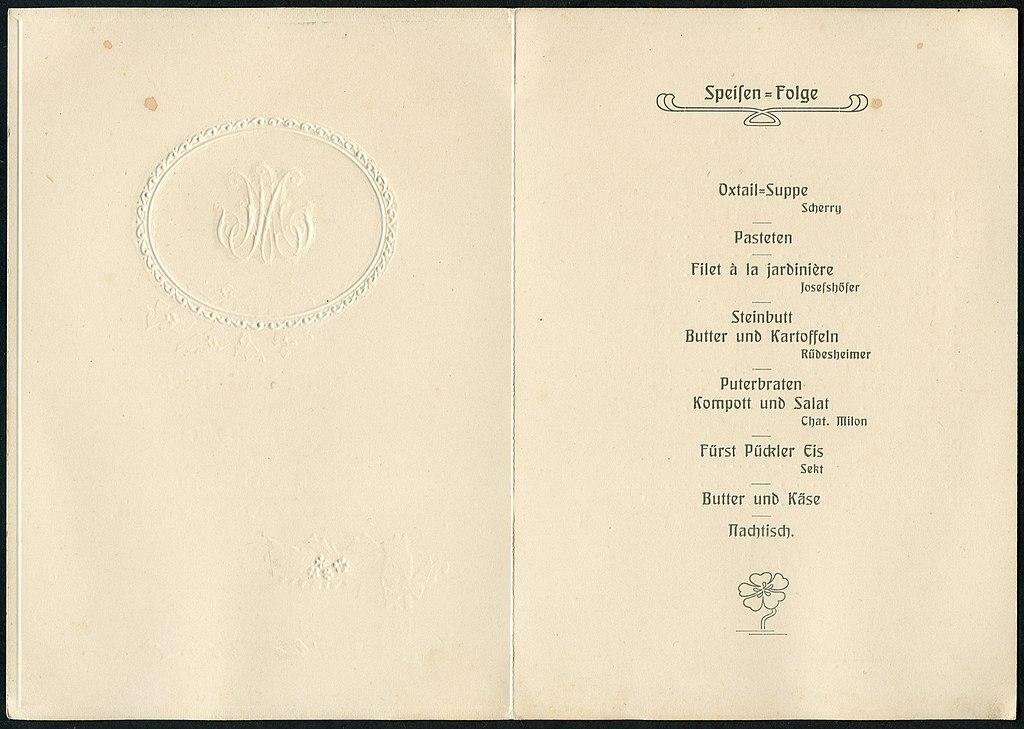 file:1910-04-16 einladung präge-klappkarte hochzeitsfeier marie, Kreative einladungen