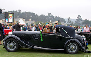 Thrupp & Maberly - Drophead coupé on a Derby Bentley chassis 1934