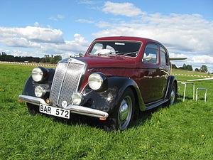 Lancia Aprilia - Lancia Aprilia 1937