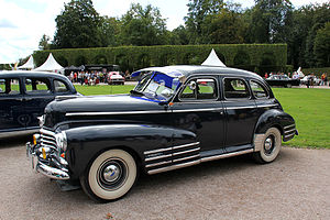 Chevrolet Fleetmaster - 1946 Chevrolet Fleetmaster Sport Sedan. This example has the additional triple fender mouldings which were a feature of the Fleetline sub-series models