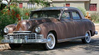 Frazer (automobile) - 1949 Frazer sedan