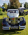 1950 Jaguar Mark V 3.5L saloon at Capel Manor, Enfield, London, England.jpg