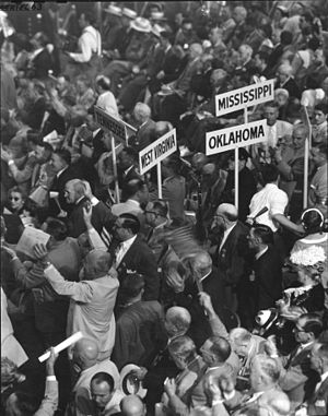 1952 Republican National Convention - Attendees at the 1952 convention