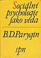 1968 B Parygin Sociialni psychologie jako veda.jpg