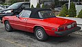 1979 Alfa Romeo Spider 2000 Iniezione (US), rear left.jpg