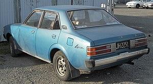 Mitsubishi Lancer (A70) - Mitsubishi Lancer GL (NZ; facelift)