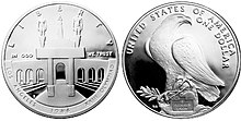 1984 Olympic Coliseum Proof Dollar