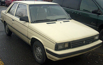 Renault Alliance - 1987 Alliance 2-door sedan