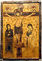 1988 - Byzantine Museum, Athens - Crucifixion - 9th-13th century - Photo by Giovanni Dall'Orto, Nov 12 2.jpg