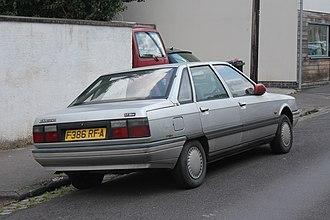 Renault 21 - Rear view of Renault 21