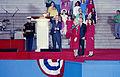 1989 Presidential Inaugration, George H. W. Bush, Opening Ceremonies, at Lincoln Memorial.jpg