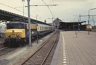 Schiedam–Hoek van Holland railway - Image: 19910908c Hoek van Holland
