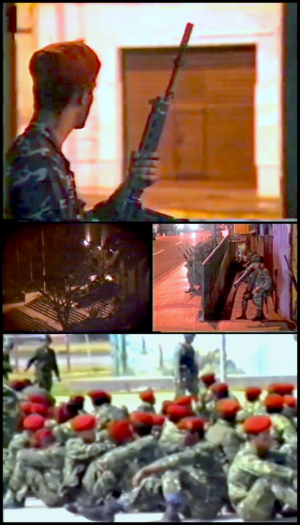 1992 Venezuelan coup d'état attempts - Image: 1992 Venezuelan coup d'état attempts collage