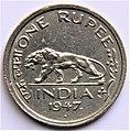 1 Indian rupee (1947) - Reverse.jpg