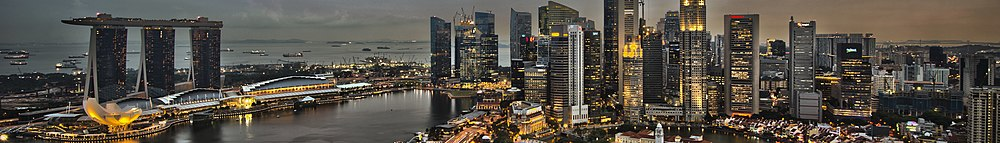 1 singapore city skyline dusk panorama 2011 (cropped for Wikivoyage).jpg