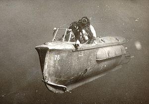 Human torpedo - Israeli manned torpedo. 1967.