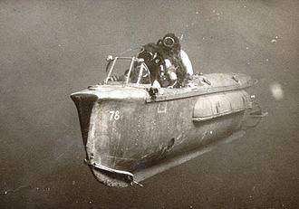 Human torpedo - Israeli manned torpedo, 1967