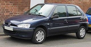 Peugeot 106 City car