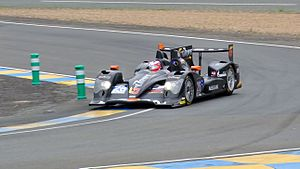 Oreca 03 - 2013 Oreca 03-Nissan LMP2 Le Mans series racing car