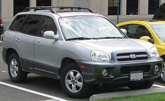 Hyundai Santa Fe - 2005–2006 Hyundai Santa Fe (US)