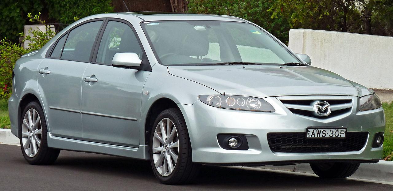 File:2005-2007 Mazda 6 (GG Series 2) Luxury Sports hatchback (2011 ...