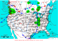 2006-01-13 Surface Weather Map NOAA.png
