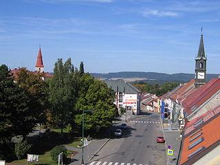 Chotěboř Town in Vysočina, Czech Republic
