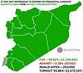 2007 Presidential election (de-facto presidential referendum) in Syria.jpg
