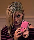 20081114 Justine Ezarik and iPhone.jpg