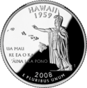 Hawaii quarter dollar coin