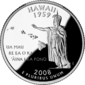 Hawaii quarto moneta del dollaro