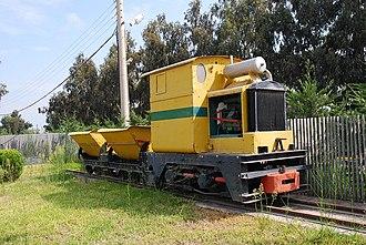 Greek industrial railways - A narrow gauge mining train