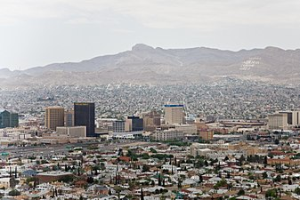 Skyline of Ciudad Juarez