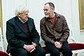 2009 Likhachev Foundation Prize ceremony - Daniil Granin and Nikolai Lokot'kov.jpg
