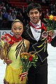 2010 Skate America Pairs - Wenjing SUI - Cong HAN - Bronze Medal - 5597A.jpg