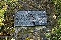 2011-04-22 Biedenkopf Landratsamt Park Gedenktafel.JPG