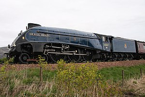 LNER Class A4 4498 Sir Nigel Gresley - Image: 2011 04 24 Sir Nigel Gresley