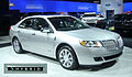 2011 Lincoln MKZ Hybrid with badging WAS 2011 855.jpg