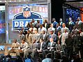 2011 NFL Draft Class invitees and 2011 NFL Hall of Famers (5668479930).jpg