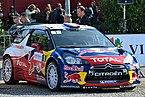 2012 10 05 Rallye France, Parc assistance Colmar, voiture de Sébastien Loeb.JPG