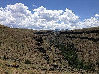 Jarbidge River - East Fork Jarbidge River Canyon in far southern Idaho